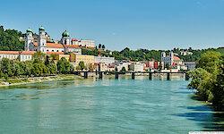 Passau Stadtansicht